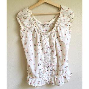 Guess floral blouse